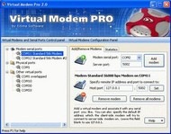 Virtual Modem PRO screenshot